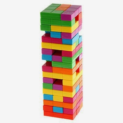 my daughter who is eight years old also loved the game this was her very first introduction to tetris or jenga she thought this was so cool - Tetris Planken