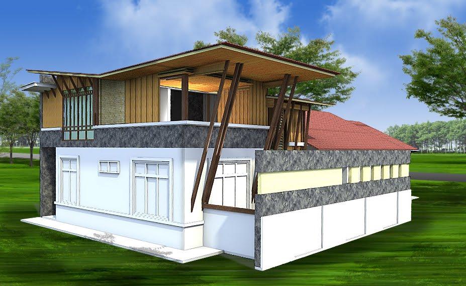 Hiasan Dalaman Rumah Teres Dua Tingkat Home Interior Design Ajilbab ...