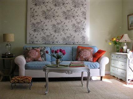 decoraci n de interiores flores para el living. Black Bedroom Furniture Sets. Home Design Ideas