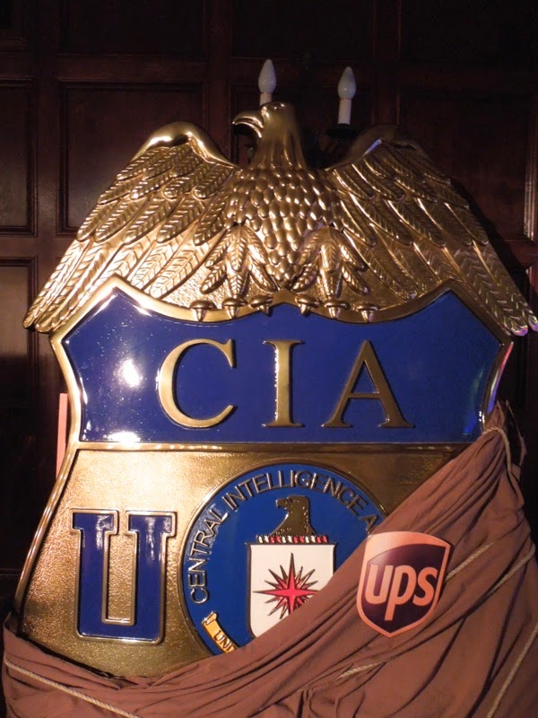 Giant CIA badge Muppets Most Wanted