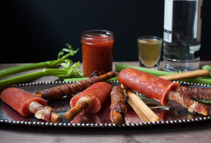 7 Must Have Bloody Mary Items; Bloody Mary popsicles