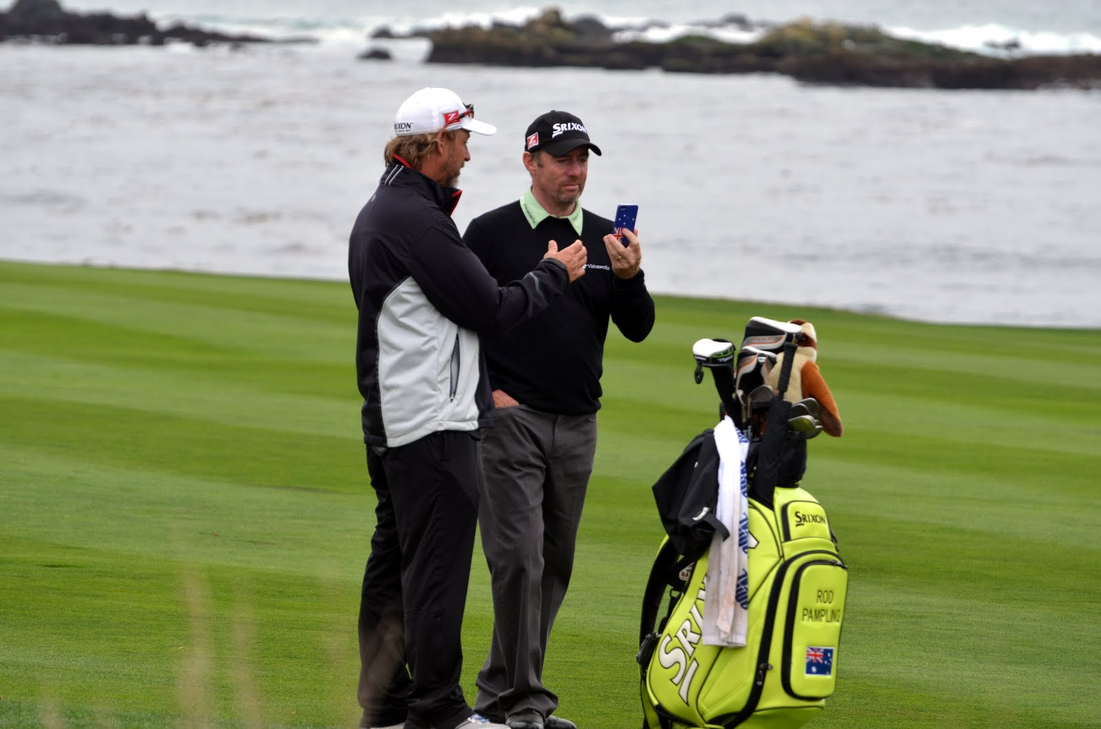 RVing Beach Bums: Monterey And Pebble Beach Golf on