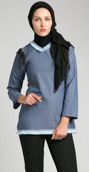 Desain Baju Muslim Casual Terkini