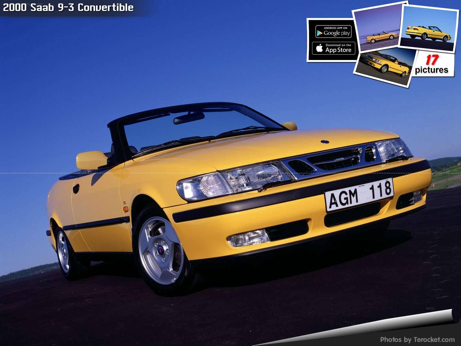Hình ảnh xe ô tô Saab 9-3 Convertible 2000 & nội ngoại thất