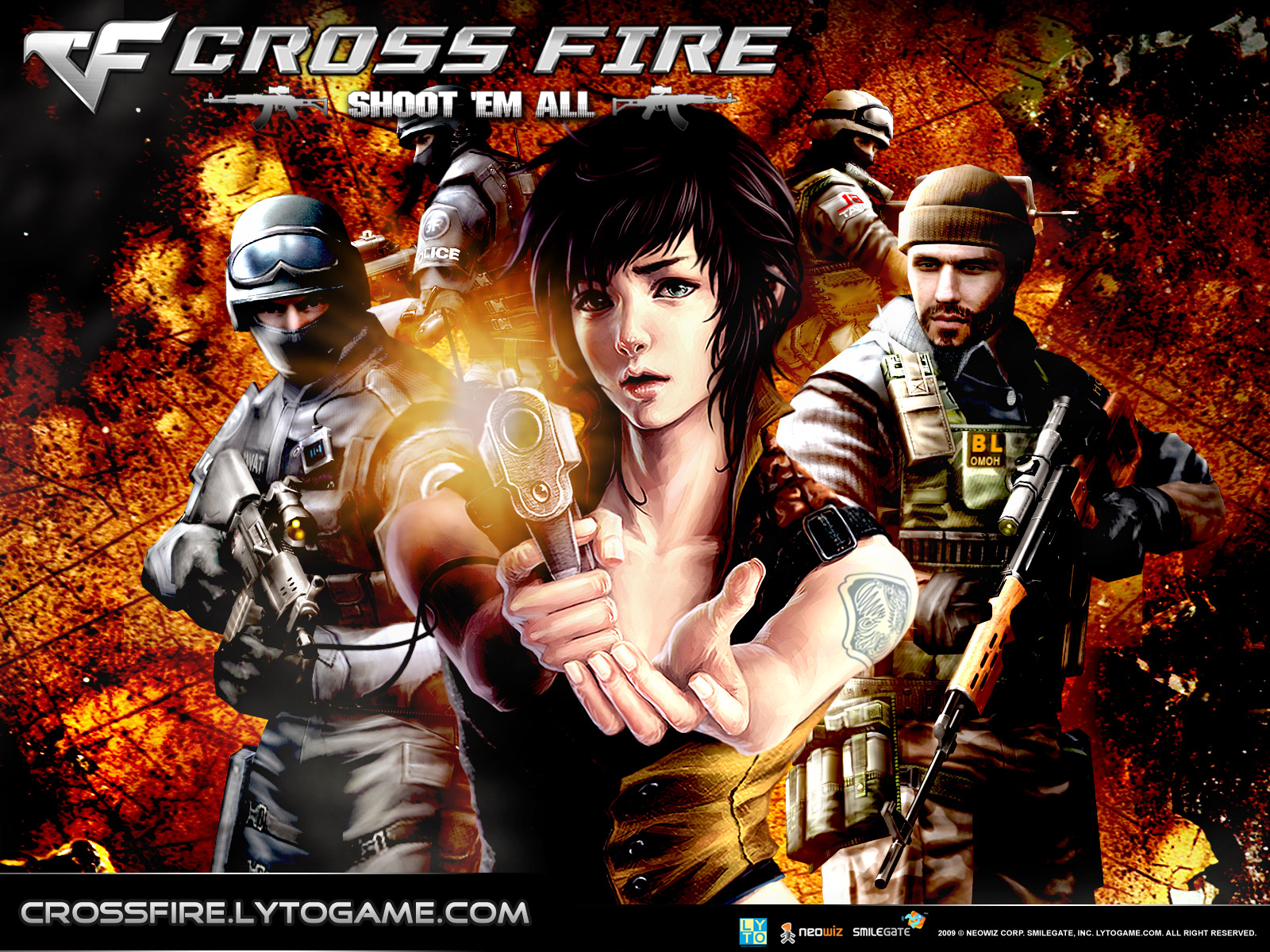 Hack para Cross Fire