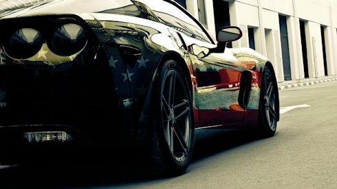 Bakgrundsbild Corvette