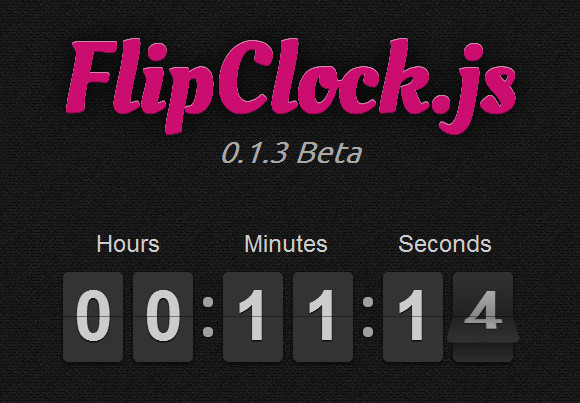 Create a Clock, Timer Or Countdown with FlipClock.js