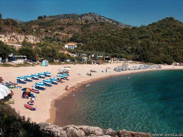 """Παραλία Μέγα Άμμος """"Σύβοτα"""" - Mega Ammos Beach sivota-epirus"""