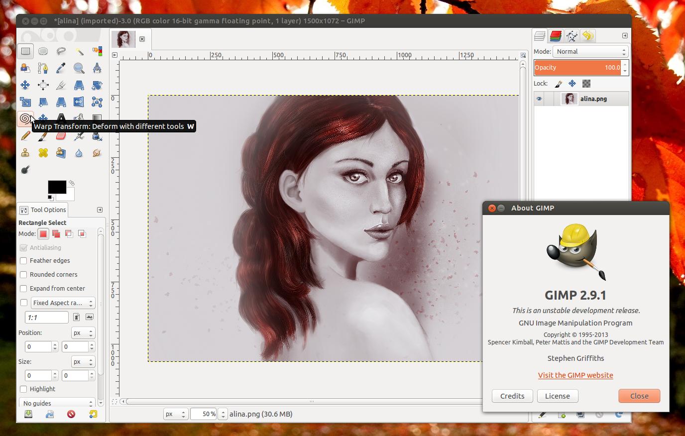 GIMP 2.10 development