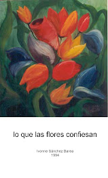 Poemario LO QUE LAS FLORES CONFIESAN 1994