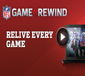 NFL Rewind - Stream Every Game of the Season the Next Day