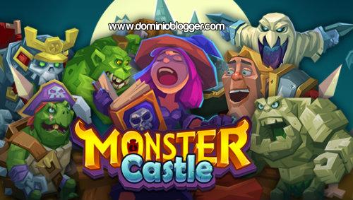 Dirige tu clan a la victoria en el juego Monster Castle