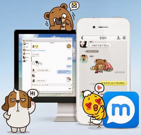 ... Kakao Talk, Line, Wechat, Whatsapp, dkk. Mypeople hadir dengan fitur