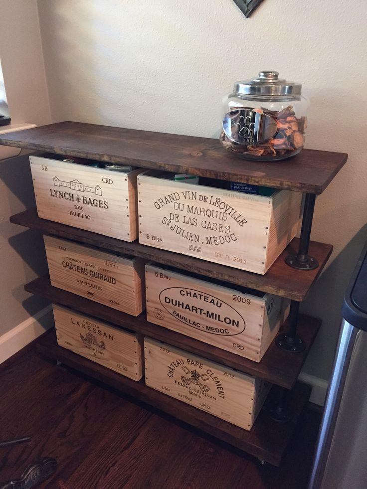 Wine Crate Furniture Wine Crate Furniture W Vaninadesignco