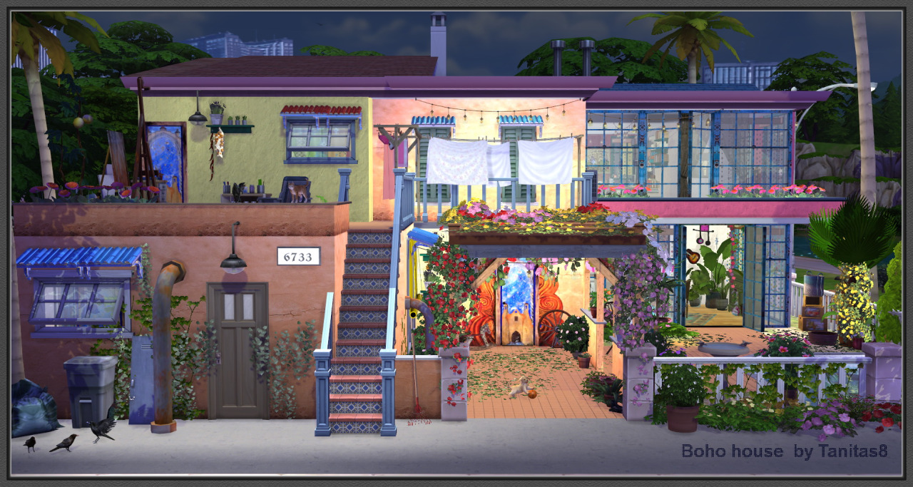 how to add house to a lot on sims 4