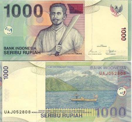 Uang Kertas 1.000 Rupiah 2012