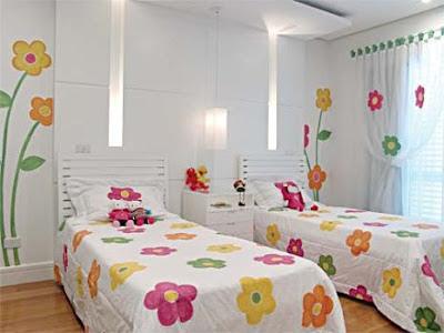 quarto para duas meninas
