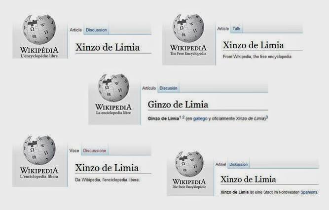 Las versiones extranjeras respetan los topónimos gallegos