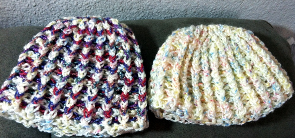 Treasures Made From Yarn: Crochet Ribbed Baby Hat