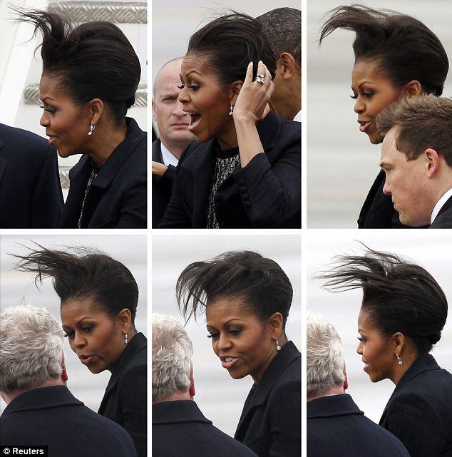 Michelle obama grinch photo reanimators
