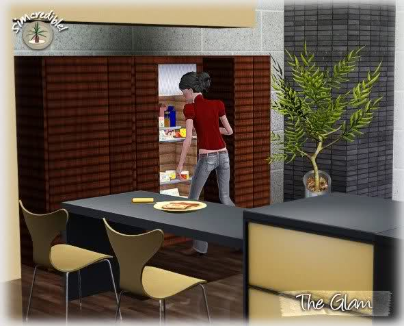 My sims 3 blog the glam kitchen by simcredible designs for Sims 3 kitchen designs