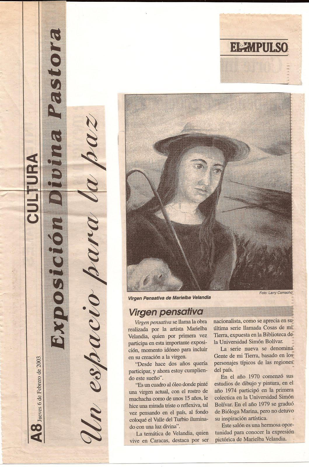 Exposición Divina Pastora