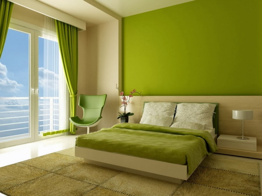 10 desain kamar tidur hijau chieraeray