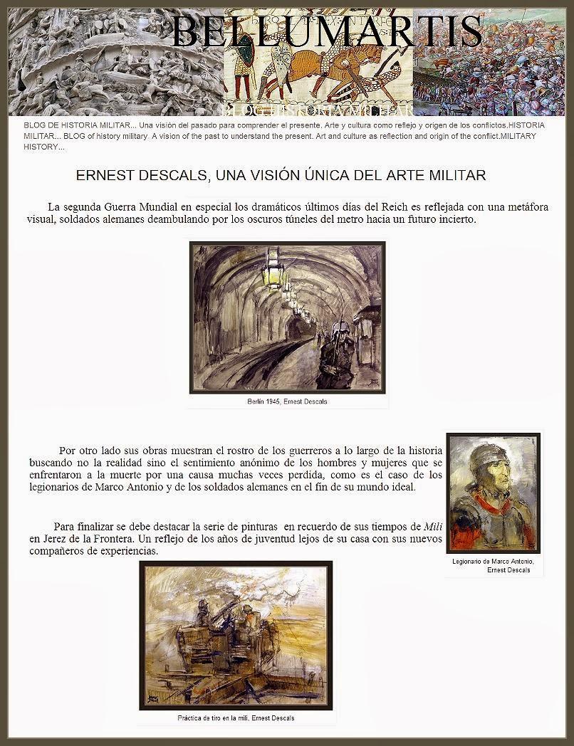 ARTE-MILITAR-HISTORIA-PINTURA-SEGUNDA GUERRA MUNDIAL-WW2-PAINTINGS-MILITARY-HISTORY-BELLUMARTIS-PINTOR-ERNEST DESCALS