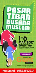 PASAR TIBAN BUSANA MUSLIM JOGJA, 1-6 Mar2017, @Gd. Wanitatama Jogja
