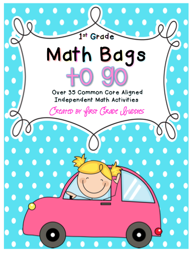 https://www.teacherspayteachers.com/Product/Math-Bags-for-1st-Grade-To-Go-30-Printable-No-Prep-Common-Core-Math-Centers-1665102
