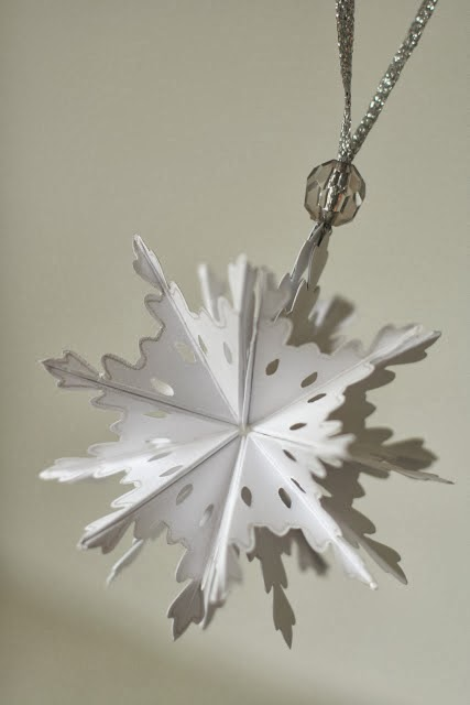 DIY Christmas Tree Paper Ornament Cheap