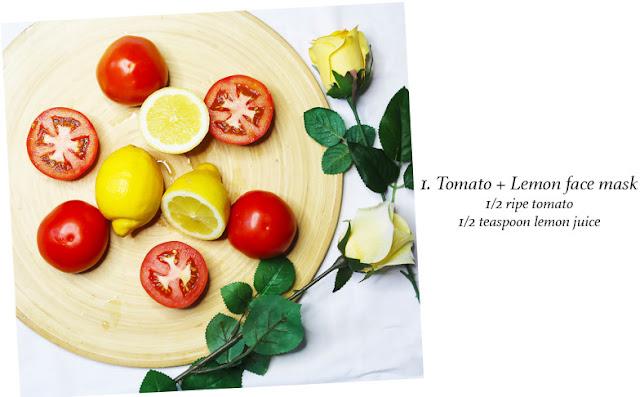 Cách trị mụn đầu đen bằng mặt nạ cà chua