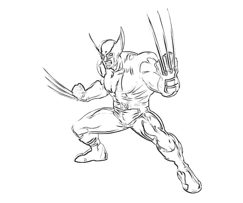 marvel-vs-capcom-wolverine-coloring-coloring-pages