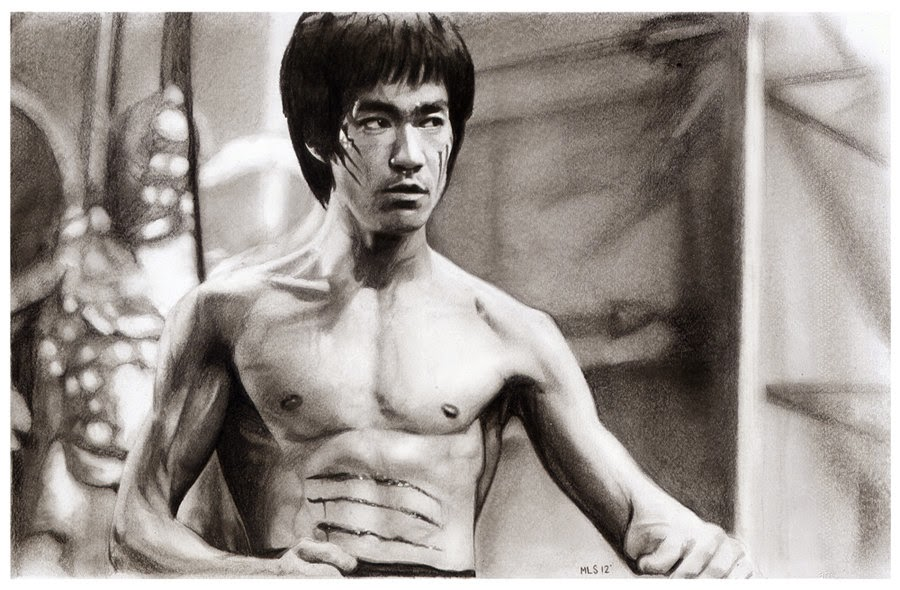 17-Bruce-Lee-Martin-Lynch-Smith-MLS-art-Celebrity-Drawings-www-designstack-co