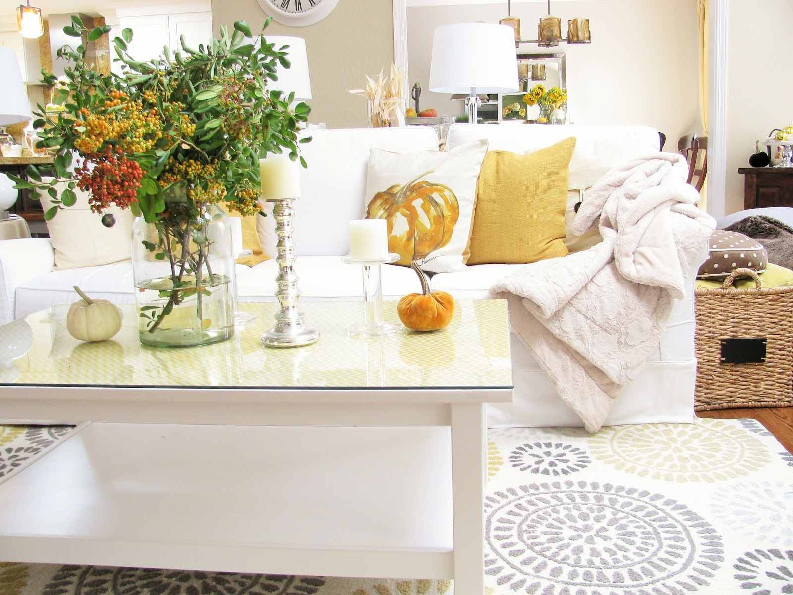 Homegoods Fall Home Tour Happy Happy Nester