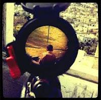 Soldat israelit lunetist