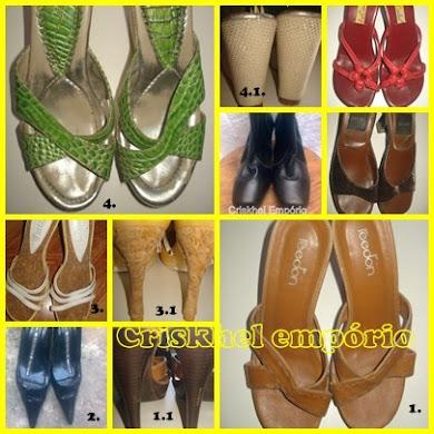 VITRINE: Criskhel calçados