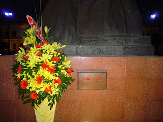 Registration of the statue of Ho Chi Minh City against