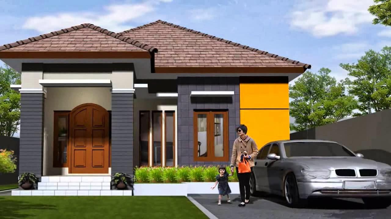 Contoh Desain Rumah Minimalis 1 Lantai Modern & Contoh Desain Rumah Minimalis 1 Lantai Modern - Desain Denah Rumah ...