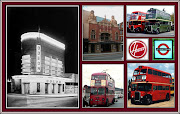 . Colnbrook and London Airport to Hounslow Bus Station. (opening collage icons)