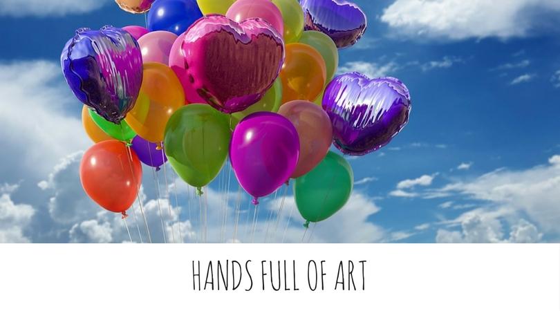 ręce pełne sztuki