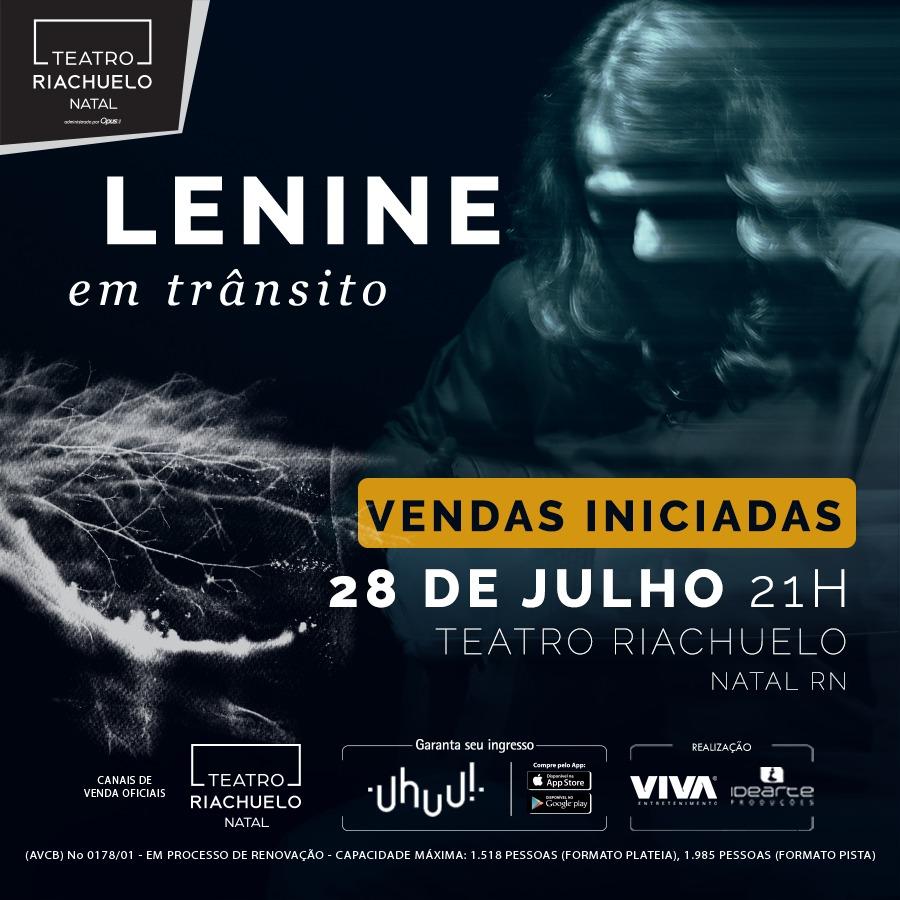 LENINE - TEATRO RIACHUELO