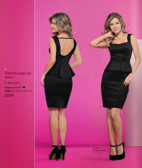 Vestido de moda Incognita PV 2015