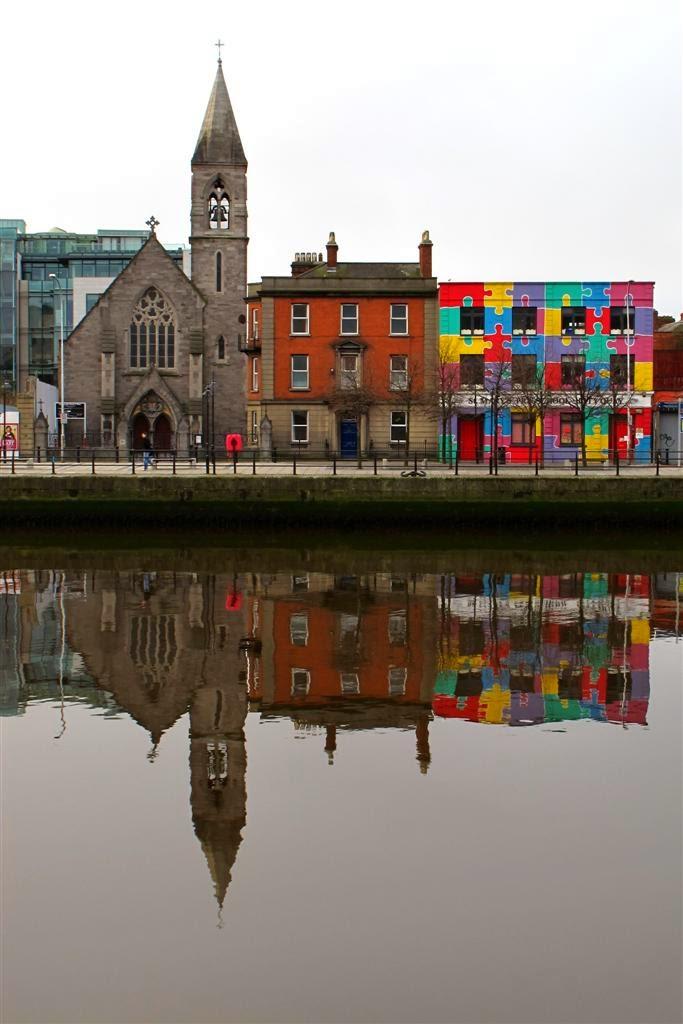 Dublin view