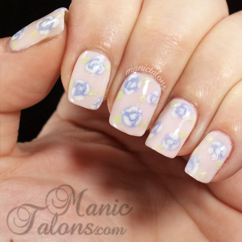 Simple Spring Roses with Couture Gel Polish
