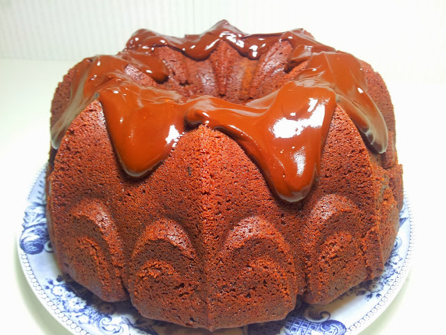 bundt cake de chocolate