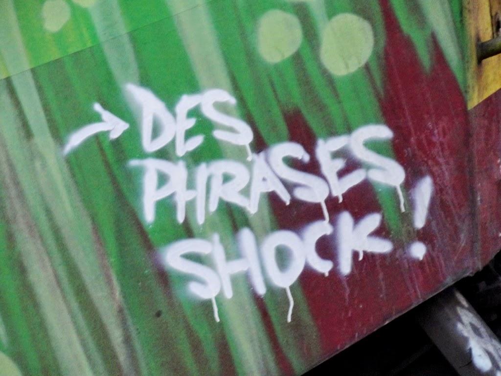 Phrases shock