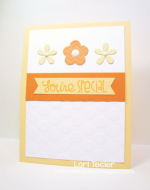 You're Special card-designed by Lori Tecler/Inking Aloud-stamps from Paper Smooches