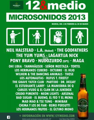 cartel microsonidos 2013