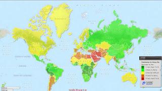 Δείτε τον χάρτη με τις πιο «εύκολες» γυναίκες στον κόσμο! Που κατατάσσουν τις Κύπριες
